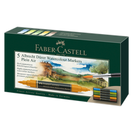 Faber Castell Albrecht Durer Watercolour Markers Wallet of 5 Plein Air