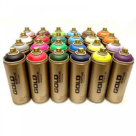 Montana Gold Spray Paint Cans