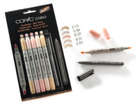 Copic Ciao 5 + 1 - Skin Tones Set