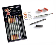 COPIC CIAO 5 + 1 - MANGA 4 SET