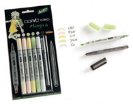 Copic Ciao Markers 5 + 1 - Manga 6 Set