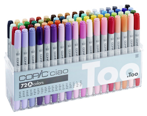 Copic Marker 72 Pen Set A