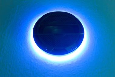 """Klipsch Mastercraft 10"""" Blue LED Subwoofer Ring"""