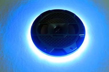 """Klipsch Mastercraft 8"""" Blue LED Speaker Ring"""