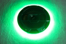 "Klipsch Mastercraft 8"" Green LED Speaker Ring"