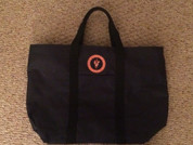 Port Authority tote with orange Auburn vet school seal!