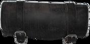 Front Forks Tool Bag Rustic Black Leather Plain