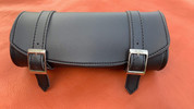 Front Forks Tool Bag Black Faux Leather