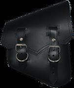 All Softail Models Vintage Right Side Solo Saddle Bag Black Plain
