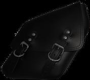 04-UP Harley-Davidson Dyna Wide Glide FXR Right Side Solo Saddle Bag Black Plain
