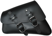04-UP Harley-Davidson Sportster  Nightster 1200   Forty-Eight 72    Roadster Left Side Saddle Bag Swingarm Bag - Black Plain