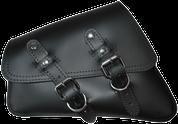 04-UP Harley-Davidson Sportster  Nightster 1200   Forty-Eight 72    Roadster Left Side Saddle Bag Swingarm Bag - Black Plain