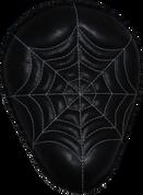 """13"""" Classic Solo Seat -  Black Spiderweb Tuck / White Thread"""