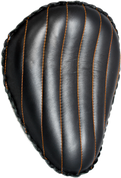 "13"" Classic Solo Seat -  Black Tuk N Roll / Orange Thread"