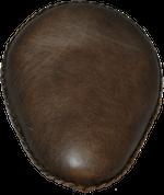 "13"" Classic Solo Seat -  Rustic Brown Plain"