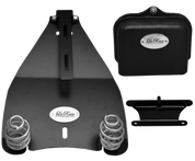 """All 2000-UP Harley-Davidson Softail Solo Seat Deluxe Conversion kit - 3"""" Barrel Springs"""