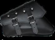 04-UP Harley-Davidson Sportster Left Side Saddle Bag - Black claSICK