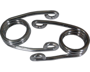 "Chrome 2"" Scissor Springs (pair)"