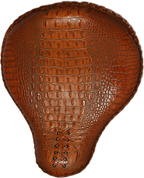 "17"" Classic Solo Seat - Brown Alligator"