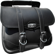 Universal Black Leather Luggage