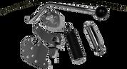 Chromed Jockey Shift Kit for 86-99 H-D FXST