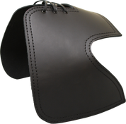 All H-D Sportsters Heat Deflector / Saddle Shield - Plain Black