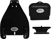 """All 2000-UP Harley-Davidson Softail Solo Seat Deluxe Conversion kit - Blacked Out 3"""" Scissor Springs"""