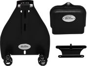 """All 2000-UP Harley-Davidson Softail Solo Seat Deluxe Conversion kit - Blacked Out 3"""" Barrel Springs"""