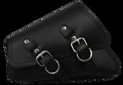 04-UP Harley-Davidson Sportster  Nightster 1200   Forty-Eight 72 XL Left Side Saddle Bag Swingarm BAg - Black Plain w/ Reinforcement