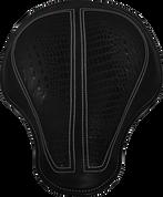 "La Rosa Harley-Davidson Sportster/Softail/Dyna/Touring Bikes Chopper Bobber 17"" Classic Solo Seat - Black with Black Alligator Inlay"