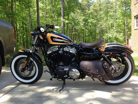 04 Up Harley Davidson Sportster Nightster 1200 Forty Eight