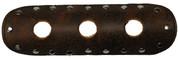 "La Rosa Design Universal Muffler Heat Shield - 9"" Rustic Brown with Circle Cuts"