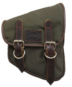 La Rosa Harley-Davidson  All HD Softail Eliminator Canvas Softail Right Side Saddle Bag    Swingarm Bag Army Green