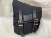 La Rosa Harley-Davidson  All HD Softail Eliminator Canvas Softail Left Side Saddle Bag   Swingarm Bag Black