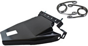 "1984-1999 Harley-Davidson Softail Solo Seat Deluxe Conversion kit - 2"" Scissor Springs Black Cover&Bracket"