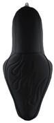 La Rosa Design La Linea Café Seat for 04UP Harley-Davidson Sportsters - Black with Flame 2.1&3.3 Tank