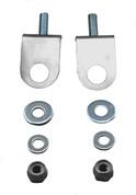 La Rosa Design Stainless Steel Rear Seat Spring Mounts