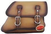82-03 Harley-Davidson XL Sportster Right Side Solo Saddle Bag - Antique Tan