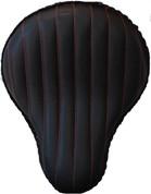 "La Rosa Harley-Davidson /Sportster/Softail/Dyna/Touring Bikes  Chopper Bobber Custom 16"" Bad Ass  Solo Seat Black Tuk N Roll - Red Thread"