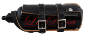 Universal Black Alligator Bottle Holder and exclusive La Rosa Spare Fuel Can