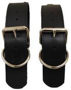 Black Viny Belts for Blanket/Jacket