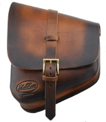 La Rosa Harley-Davidson All Softail Models Left Side Solo Saddle Bag  Swingarm Bag - Hand Dyed Antique Leather