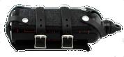 Universal Bottle Holder and exclusive La Rosa Spare Fuel Can-Black Denim
