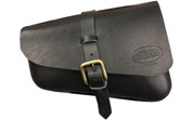Right Side Solo Saddle Bag for 2016 & Up Triumph Bobber Black Plain
