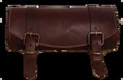 Front Forks Tool Bag -Burgundy Leather