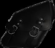 SALE!! 04-UP Harley-Davidson Dyna Wide Glide FXR Right Side Solo Saddle Bag Black Plain