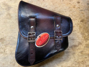Sale!!La Rosa Harley-Davidson All Softail Models Left Side Solo Saddle Bag  Swingarm Bag Antique Shedron