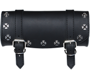 Front Forks Tool Bag Black - Iron Cross Spikes