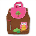 Personalized Stephen Joseph Owl Backpack