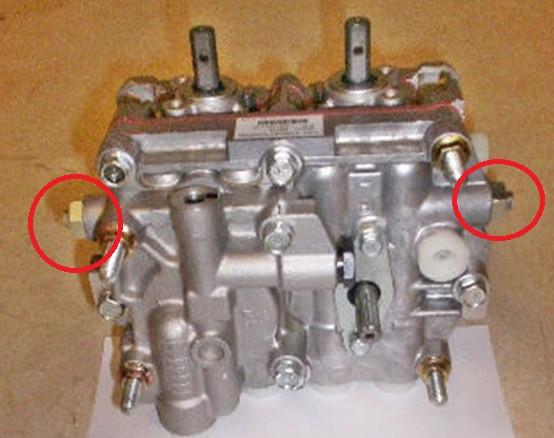 Replaces John Deere TCA13896 Dual Pump